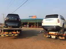 """Đại gia Campuchia nhập cùng lúc 1 cặp """"hắc bạch công tử"""" Rolls-Royce Cullinan, giới nhà giàu Việt phát sợ"""