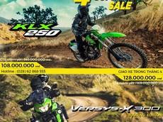 """Maxmoto đưa ra chương trình giảm giá """"cực mạnh"""" với 2 mẫu xế phượt Kawasaki trong tháng 4 tới đây"""