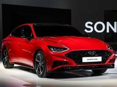 Vén màn Hyundai Sonata 1.6 Turbo 2020 với động cơ mạnh mẽ và thiết kế thể thao