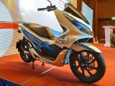 Honda PCX Electric trang bị động cơ điện bất ngờ xuất hiện tại Việt Nam