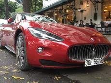 """""""Vua đinh ba"""" Maserati GranTurismo đeo """"biển sảnh"""" đẹp mắt của nữ doanh nhân Hà Nội"""