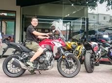 Honda CB500X 2019 đầu tiên về tay khách hàng tại Việt Nam