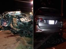 Đồng Nai: Toyota Fortuner nát bét sau khi đối đầu ô tô tải, 3 người phụ nữ tử vong