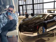 """Con trai của """"ông trùm"""" Trung Quốc khoe hoá đơn mua Bugatti Chiron trị giá 88 tỷ đồng tại Canada"""