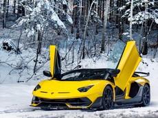 """""""Thánh cuồng màu vàng"""" tậu thêm siêu xe cực hiếm Lamborghini Aventador SVJ"""