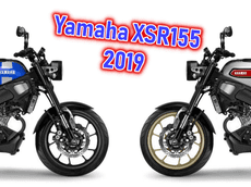 Hé lộ thiết kế dự kiến của Yamaha XSR155 2019 - Đối thủ của Honda CB15R và Kawsasaki W175