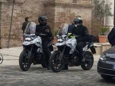 Xe Adventure mới của Suzuki lộ ảnh chạy thử, nghi ngờ là DR Big