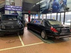 Siêu phẩm Mercedes-Maybach S600 Pullman của Chủ tịch FLC bất ngờ xuất hiện ở Nghệ An