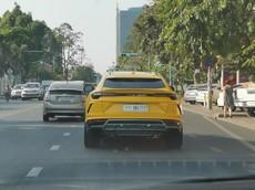 """Lại thêm siêu SUV Lamborghini Urus ở Campuchia mang biển """"tứ quý"""""""