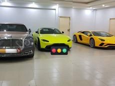 """Bộ 3 siêu xe và xe siêu sang mua chính hãng hơn 110 tỷ đồng của doanh nhân quận 12 """"độ"""" khung biển số"""