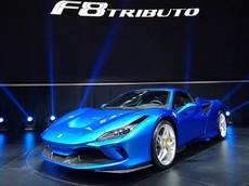 """""""Siêu sao"""" Ferrari F8 Tributo lần đầu tiên trình diễn trước giới nhà giàu tại Đông Nam Á"""