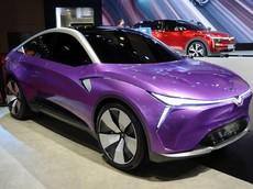Hezhong Eureka 02 - Mẫu xe có thiết kế bắt mắt và màu sơn tím nổi bật ở Triển lãm Thượng Hải 2019