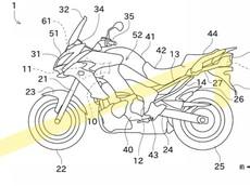 Kawasaki phát triển Versys mới với hệ thống rađa được bố trí ở đầu và đuôi xe