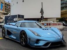 Siêu xe triệu đô không hộp số Koenigsegg Regera đầu tiên đến thiên đường siêu xe Monaco