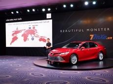 Toyota Camry 2019 chính thức ra mắt, hứa hẹn hấp dẫn với nhiều nâng cấp đắt giá