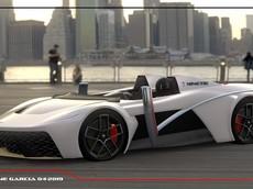 """Inertia Kinetik - Mẫu concept cho thấy xe thể thao tương lai có thể sẽ """"ngầu"""" đến thế nào"""