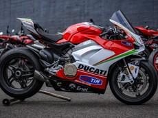 Siêu mô tô Ducati Panigale V4 phiên bản tôn vinh Nicky Hayden lộ diện