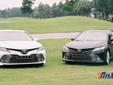 Hai phiên bản của Toyota Camry 2019 khác nhau những gì mà chênh giá tận 206 triệu đồng?
