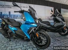 Maxi-scooter BMW C400 đã ra mắt tại Malaysia với giá khởi điểm 250 triệu đồng, bao giờ đến Việt Nam?
