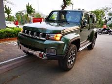 BAIC BJ40L Plus - phiên bản Trung Quốc của Jeep và Hummer - ồ ạt cập cảng Việt Nam, được chốt giá gần 1 tỷ đồng