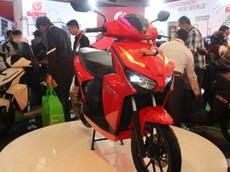Cận cảnh xe máy điện Gesits với thiết kế thể thao, ngoại hình giống Honda Air Blade, giá 40 triệu đồng