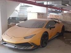 Lamborghini Huracan độ Mansory đình đám một thời hiện nằm phủ bụi tại nhà kho ở Nha Trang