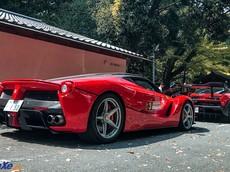 Dàn siêu xe triệu đô Ferrari LaFerrari và McLaren Senna tụ tập tại Nhật Bản