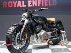 Royal Enfield Meteor mang thiết kế Bobber sắp ra mắt