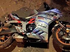 Vũng Tàu: Xe mô tô mất lái đâm vào gốc cây, hai người tử vong