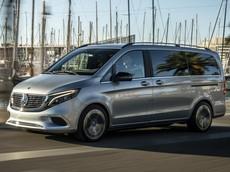 Mercedes-Benz EQV dạo chơi ở đất cảng Barcelona, phiên bản thương mại hứa hẹn vào tháng 9