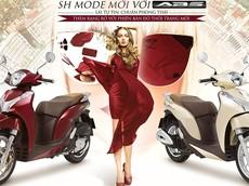 Honda SH Mode 125 có màu mới, thêm sự lựa chọn cho khách hàng