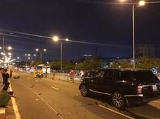 Sài Gòn: Chạy ngược chiều, người đàn ông đi xe máy đối đầu Range Rover, tử vong tại chỗ