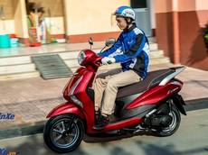 Đánh giá nhanh Yamaha Latte 125: Chuẩn mực cho sự sành điệu, cạnh tranh trực tiếp Honda Lead