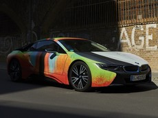"""Đây là chiếc BMW i8 có nước sơn """"nghệ thuật"""" độc nhất thế giới"""
