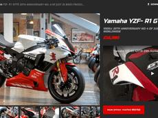 Siêu mô tô Yamaha R1 GYTR - mẫu xe chỉ có 20 chiếc trên thế giới được rao bán trên mạng với mức giá gần 2 tỷ đồng