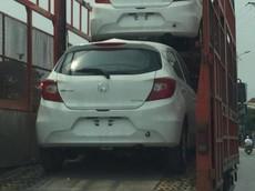 Bắt gặp Honda Brio được vận chuyển về tới Hà Nội, ngày ra mắt không còn xa