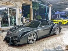 Đây là giải pháp cho những người ít tiền mà lại cuồng Lamborghini Veneno Roadster