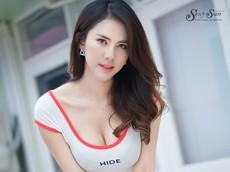 Ngắm vẻ thanh xuân gợi cảm của người đẹp Thái Lan bên xe đạp