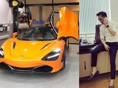 """Cường """"Đô-la"""" đứng sau cú điện thoại mang siêu xe McLaren 720S màu cam bí ẩn quay lại Sài thành?"""