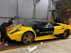 Car Passion 2019: Lamborghini Murcielago LP640 mui trần của Gia Lai đã vận chuyển ra Hà Nội