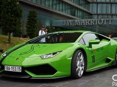 Cận cảnh siêu xe Lamborghini Huracan xanh cốm tham dự Car Passion 2019 của Nam Định
