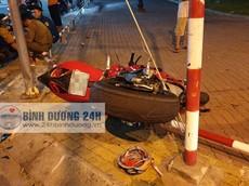 Bình Dương: Ducati 899 Panigale va chạm với Honda Wave, hai người thương vong