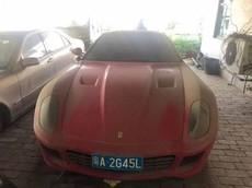 Chiếc siêu xe Ferrari 599 trị giá 2,9 tỷ đồng nhưng lại được rao bán 8 triệu đồng