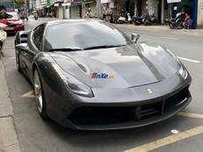"""Siêu xe Ferrari 488 GTB có màu sơn y hệt xe Cường """"Đô-la"""" từng sở hữu bất ngờ Nam tiến"""