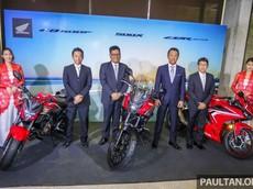 Bộ ba Honda CBR500R, CB500F và CB500X 2019 trình làng với giá khởi điểm 190 triệu đồng