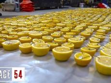 Người Nga thử nghiệm tạo ắc quy bằng 1000 nửa quả chanh để khởi động xe và cái kết