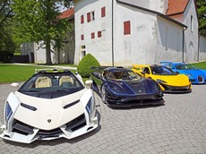 """Bộ sưu tập siêu xe """"khủng"""" bị tịch thu của phó Tổng thống Guinea Xích Đạo được đem ra bán đấu giá"""