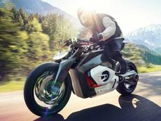 Mô tô trang bị động cơ Boxer điện của BMW mang tên Vision DC Roadster bất ngờ ra mắt