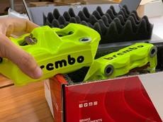 """Hãng phanh Brembo cho ra mắt cùm phanh M4 với nhiều màu sắc """"chơi trội"""""""