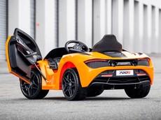 Kể cả một đứa trẻ 3 tuổi cũng có thể cầm lái chiếc siêu xe McLaren 720S này